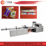 Copo horizontal do fluxo da fábrica que conta a máquina de embalagem