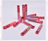 Lucentezza duratura dell'orlo di 12 colori di trucco del rossetto liquido opaco impermeabile alla moda del velluto
