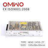 Bloc d'alimentation à sortie unique de commutation de la couverture 5V 150W DEL du noir Wxe-150s-5