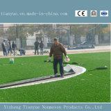 Grama artificial para o campo de futebol do futebol