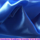 fio poli tela tingida do cetim do estiramento do Spandex do vestido da saia 50d