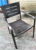 Silla de cena industrial de la silla al aire libre del alumbre de la silla del restaurante