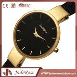 Reloj grande de la mano del cuarzo del acero inoxidable de la dial de RoHS/Ce