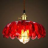 Hängende Glaslampe für Innenfarbe der beleuchtung-sechs