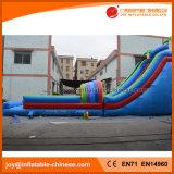 Diapositiva caliente inflable gigante del parque de la selva del verano (T11-099)