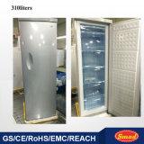 引出しが付いている立場の冷凍庫中国製