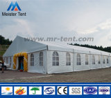 贅沢な装飾のゆとりの屋根の結婚披露宴のテント
