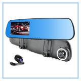 1080P câmera dupla DVR carro com 6 luzes LED