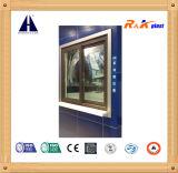 Profils d'extrusion des chambres Co de la surface lisse cinq pour Windows en plastique et des portes