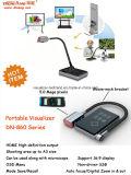 5MPの事務用品のための黒い携帯用Visualizer