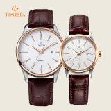 ステンレス鋼のカップルの腕時計、水晶腕時計70036