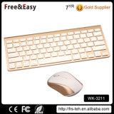 Minischlüssel bewegliche drahtlose Bluetooth Tastatur und Maus der größen-78 kombiniert für Laptop