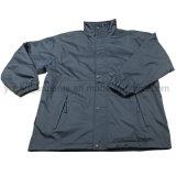 Куртка пальто дождя зимы людей сплетенная водоустойчивая реверзибельная (IC25)