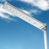 Heißer Verkauf aller in einem im Freien LED-Solarstraßenlaterne-Bewegungs-Fühler-Ausgangslicht mit Pole-Straßen-Licht-Preisliste China