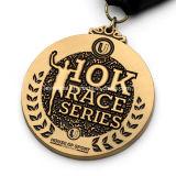 Medaglia all'ingrosso di sport di esecuzione di serie della corsa di abitudine 10k