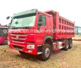 Sinotruk HOWO 6X4 20-30ton 15cbmのダンプのダンプカートラック
