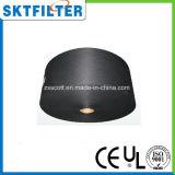 Hojas activadas del filtro del carbón
