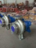 Pompe aspirante horizontale de fin de l'eau centrifuge d'acier inoxydable