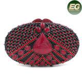 Fashion Design Crystalstone embrague carteras de lujo de señoras Handbbag Leb753