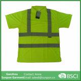 Alta camicia di polo di visibilità del codice categoria 2
