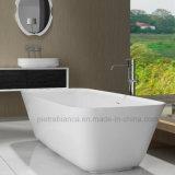 Vasca da bagno indipendente di pietra artificiale della mobilia della stanza da bagno (PB1016M)