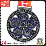 Медаль металла сувенира 2017 таможен закручивая