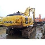 Excavador usado de la correa eslabonada de KOMATSU PC200-7 del excavador de KOMATSU PC200-7