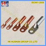Doppelte Öffnungs-Kupfer-Großhandelsterminals vom direkten Hersteller (HS-DZ-0042)
