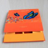 Caixa de papel Foldable de gravação do cartão duro da impressão