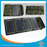 Solarfaltbare Solaraufladeeinheit der aufladeeinheits-14W mit USB ohne Batterie