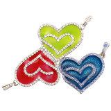 Привод флэш-память USB металла ювелирных изделий сердца диаманта кристаллический
