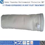 Sachet filtre acrylique perforé par pointeau non-tissé de filtre pour le collecteur de poussière