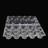 15PCS clamshell plástico claro desechable de la bandeja de la ampolla del huevo (concha del ANIMAL DOMÉSTICO)