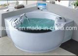 BALNEARIO de clase superior de lujo de la bañera del masaje con la TV impermeable para el chalet (AT-9051TV)