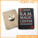 Pin macio feito sob encomenda Bagde do ouro do esmalte para os presentes relativos à promoção (YB-Lp-60)