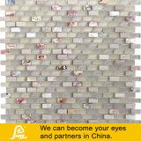 벽 훈장 수평선 시리즈 (수평선 S E01/E02/E03)를 위한 최신 판매 8mm 수평한 혼합 수정같은 유리 모자이크