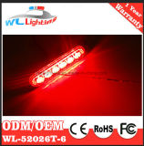 Montaje superficial LED de advertencia cabezal de iluminación 6W