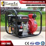 1.5 bomba de água agricultural de alta pressão da gasolina da irrigação do motor da polegada 7.0HP Honda