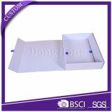 Cadre de empaquetage se pliant plat de papier magnétique de cadeau de guichet clair