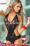 Женское бельё открытого типа комплектов Бикини Halter шнура g платья шнурка цельного западного эротичное