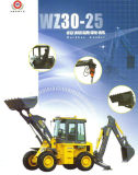 Cargador caliente Wz30-25 de la retroexcavadora de la venta con precio barato