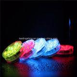 Основание вазы освещения пруда свадебного банкета плавательного бассеина света погружающийся RGB 10 СИД эксплуатируемое батареей водоустойчивое подводное