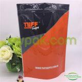 Saco de plástico de pé 2lb para o pó da proteína