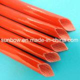 fibre de verre ignifuge en caoutchouc de silicones 4kv gainant pour des moteurs