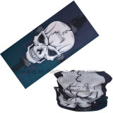 Bandanas multifunzionali della mascherina del cranio di stampa di marchio personalizzati Microfiber del motociclista