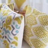 Cuscini di manovella grigi di tela del cotone di lusso comodo