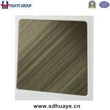 Qualitäts-HaarstrichEdelstahl-Farben-Panel für Tür, Höhenruder, Wand-Dekoration
