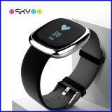 Neue Blutdruck-Impuls-Monitor Bluetooth Armband-Uhr der Ankunfts-2017