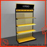 Dispositivo del almacén del estante de visualización del metal del soporte del metal de la visualización del metal