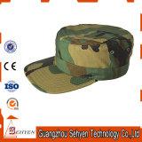 Chapéu do uniforme do tampão da guarda florestal do exército